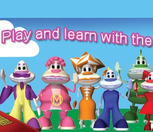 Learning can be fun with Gigglebies CD-Rom Games